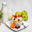 Cottage cheese — Stock Photo #30831567