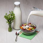 Light breakfast — Stock Photo