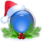 Weihnachten-web-taste — Stockvektor