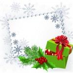 Gift Christmas box — Stock Vector #18003759
