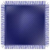 Džíny tkanina s třásněmi — Stock vektor