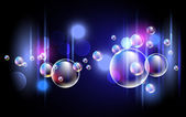 Bubbels — Stockvector