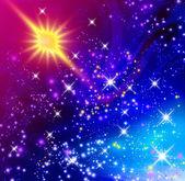 Parlayan yıldız — Stok fotoğraf