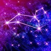 Leo constellation — Stock Photo