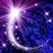 Komeetkuyruklu yıldız — Stok fotoğraf