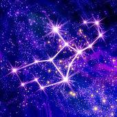 Constellation Virgo — Stock Photo