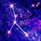 Constellation Cancer — Stock Photo