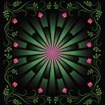 Decorative floral ornament — Stock Vector #29560337