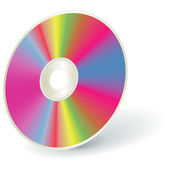 Disk DVD — Stock Vector