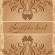 Vintage background with ornament — Stock Vector #29782071