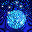 Stock Vector: Disco ball