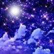 Stars in the space — Stock Photo