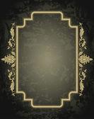 Vintage ornament frame  — Stock Vector