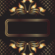 Background with ornament — Stock Vector #6049187