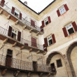 Castel thun inside view - Stockfoto