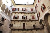 Castel thun vista interior — Foto de Stock