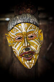 Etniska mask — Stockfoto