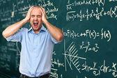 Profesor desesperado — Foto de Stock