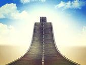 Caminho para o céu — Foto Stock