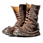 Combat boots — Stock Photo #16945719