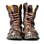 Combat boots — Stock Photo