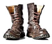 военные ботинки — Стоковое фото