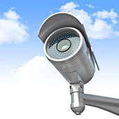 Surveillance camera — Foto Stock
