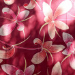 Flower fabric — Stock Photo
