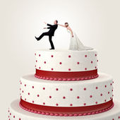 Cake topper — Stock Photo