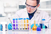 Naukowiec w pracy — Zdjęcie stockowe