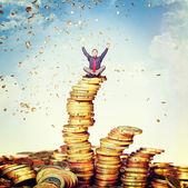 Pluie d'argent — Photo