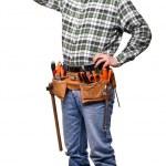 Confident carpenter — Stock Photo