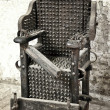 Torture chair - Stock Photo