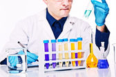 Scientist at work — Stock Photo