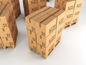 Boxes — Stock Photo