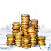 お金と財務グラフ — ストック写真