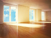 Sunny day in my house — Stock Photo