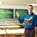 Happy teacher — Stock Photo #24968381