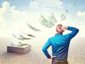 Desperdiçar o meu dinheiro — Foto Stock