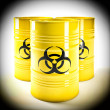 Stock Photo: Biohazard barell