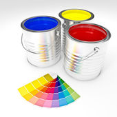 Can color paint — Stock Photo