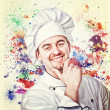 Chef fantasy — Stock Photo