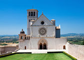 Assisi cathedral — Stock Photo