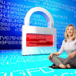 Stock Photo: Digital security