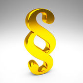 Golden absatzsymbol — Stockfoto