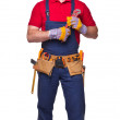 Handyman portrair — Stock Photo #34814673