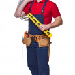 Handyman portrair — Stock Photo #34843907