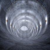 コンクリートのトンネル — ストック写真