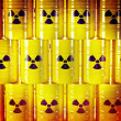 Radioactive barrel — Stock Photo #35839695