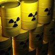 Radioactive barrel — Stock Photo #35851693